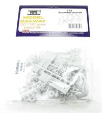 Dapol C033 Scammell Scrab plastic kit