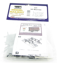 Dapol C041 10t Ventilated Meat Van wagon plastic kit