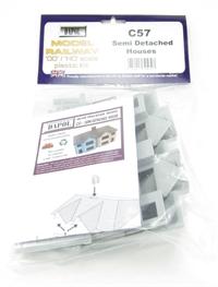 Dapol C057 Semi-Detached House plastic kit