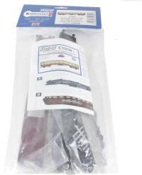 Dapol C105B 60ft Stanier corridor composite BR Carmine & Cream M3934M (Plastic kit)