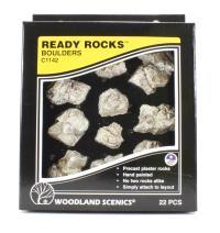 Woodland Scenics C1142 Boulders Ready Rocks