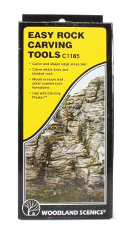 Woodland Scenics C1185 Easy Rock Carving Tools