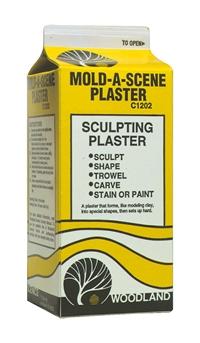 Woodland Scenics C1202 Mold-a-Scene plaster - 1/2 gallon