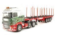 "Corgi Collectables CC13742 Scania R (Rear Tag) Log Trailer ""Eddie Stobart, Carlisle"" NEW TOOLING"