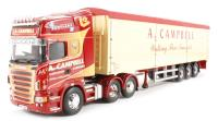 "Corgi Collectables CC13753 Scania R Moving Floor Trailer ""A. Campbell, Carstairs"""