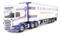 "Corgi Collectables CC13757 Scania R Curtainside ""N G Bell & Son LTD, Newtownards, Northern Ireland"""