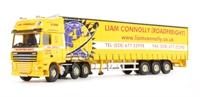 Corgi Collectables CC14115 DAF 105 Curtainside - Liam Connolly Roadfreight Ltd - Fermanagh, Northern Ireland.