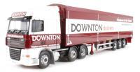 """Corgi Collectables CC14116 DAF XF Moving Floor Trailer """"Downton, England"""""""