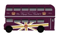 Corgi Collectables CC82326 The 90th Birthday of HM Queen Elizabeth II – Commemorative Die-Cast Souvenir Classic Routemaster