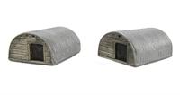 Harburn Hamlet CG230 Corrugated Steel Animal Shelter