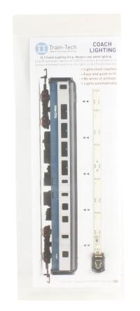 Train Tech CL1 Standard Coach Lighting Strips - Cool White