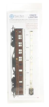 Train Tech CL22 Coach Lighting with Effect -  Warm White/Flickering Tail