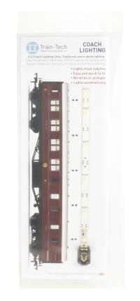 Train Tech CL2 Standard Coach Lighting Strips - Warm White