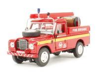Cararama CRLAND3FIRE Land Rover Series III Fire Brigade