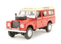 Cararama CRLAND3RED Land Rover Series III in red