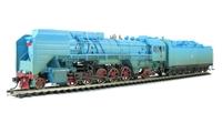 Bachmann China CS00108 QJ Steam Loco (Blue)