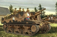 Dragon D6760 Sexton MkII (M4A1 Grizzly chassis) 25 pdr self propelled gun