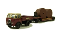 """Base Toys DA04 Foden DG & Trailer with cable drum load """"BR (W)""""."""