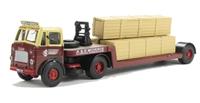 "Base Toys DA07 Leyland Beaver Low Loader & 3 Long Crates ""A & E Morris"""