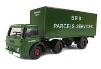 "Base Toys DA34 D-Series articulated van ""BRS Parcels Service"" (circa 1968-1978)"