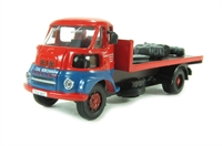Base Toys DA36 Leyland FG flatbed 'M.G. Williams - Coal Merchant' with load of coal & coke sacks (circa 1965 - 1975)
