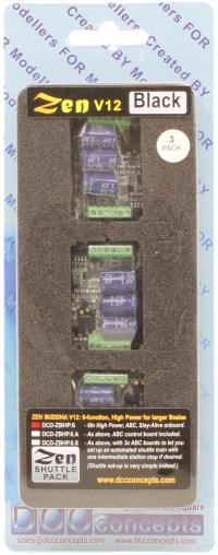 DCD-Z218-5 DCCconcepts OO ZEN 218 21 /& 8 Pin 4 Fn Decoder Stay Alive 5 Pack