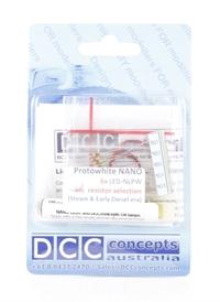 DCC Concepts LED-NLPW 0.8mm NANO LED Prototype White x 6