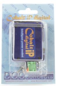 DCC Concepts DCP-CB1DIP COBALT ip Slow Action Digital Point Motor (Single)