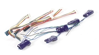 DCC Concepts DCC-S4SAP-5 8-pin 4-function S Series decoder with Stay Alive x 5
