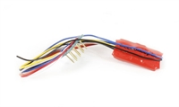 DCC Concepts DCC-TS2SAX 8-pin 2-function TS Series small & thin decoder
