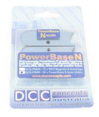 DCC Concepts DCX-PBBN PowerBase Track Plates for N Gauge (2.5m)