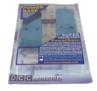 DCC Concepts DCX-PBVP PowerBase OO Gauge Value Pack - use to setup PowerBase on 16ft (5 metres) of track and run 3 locos - 12 magnets