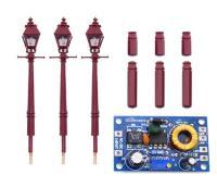 DCC Concepts DML-LMSG Upright platform lamp - LMS gas x 3