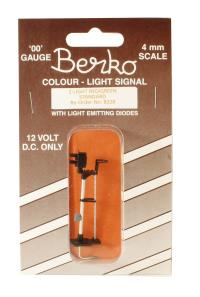 Berko ECKB228 2 light signal red/green standard square head
