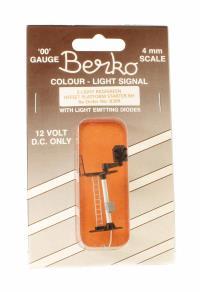 Berko ECKB30R 2 light signal red/green offset platform starter RH square head