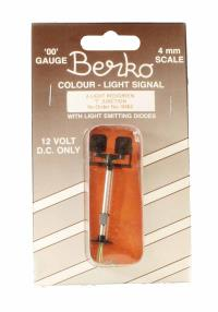 Berko ECKB462 2 light signal red/green T junction square head