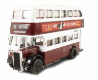 "Forward Models EDE-11 Daimler Birmingham Standard Edinburgh bus No.11 to Fairmilehead ""Tern Shirts & Drinkapintamilkaday"""