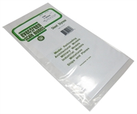 "Evergreen Plastics EG2080 12"" x 6"" V Groove sheet 0.08 SP."