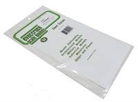 "Evergreen Plastics EG4041 12"" x 6"" Clapboard sheet .040"" spacing"