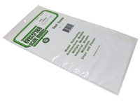 "Evergreen Plastics EG4050 12"" x 6"" V Groove sheet .050"" spacing"