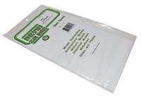 "Evergreen Plastics EG4081 12"" x 6"" Clapboard sheet .080"" spacing."