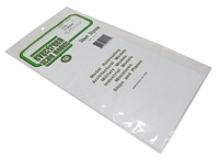 "Evergreen Plastics EG4125 12"" x 6"" V Groove sheet .125"" spacing"