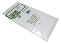 "Evergreen Plastics EG4526 12"" x 6"" Corrugated metal sheet 0.04"" spacing"