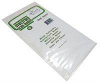 """Evergreen Plastics EG4544 12"""" x 6"""" Board & Batten sheet 3.2mm spacing"""