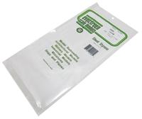 "Evergreen Plastics EG9005 12"" x 6"" Clear sheets .005"" thickness 3 per pack"