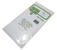 "Evergreen Plastics EG9040 12"" x 6"" Sheets 0.040"" thickness 2 per pack"