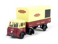"Pocketbond ""Classix"" EM76504 Jen-Tug artic & parcels van trailer JA 4325 E in ""British Railways"" livery"