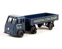 "Pocketbond ""Classix"" EM76506 Jen-Tug artic & dropside trailer in ""National Coal Board"""