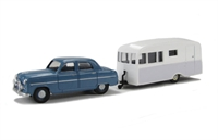 "Pocketbond ""Classix"" EM76517 Ford Zephyr Six Mk1 and Bluebird Dauphine Caravan"