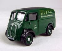 "Pocketbond ""Classix"" EM76603 Morris 10 cwt J van in ""R&S Tomkins Fresh Fruit & Vegetables"" green livery"